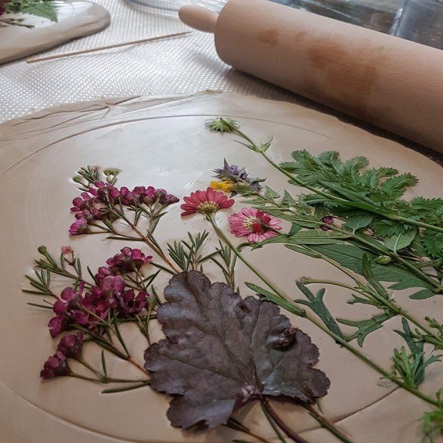 KULTŪROS PASAS Augalų atspaudai molyje