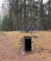 Partizanų bunkeris Miliūnuose