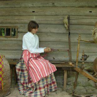 Aukštaitiškos strips weaving