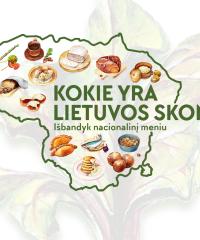 Kokie yra Lietuvos skoniai? Išbandyk nacionalinį meniu