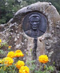 A monument to the poet P. Širvys