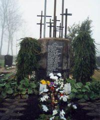 Partizanų kapai Pandėlio kapinėse