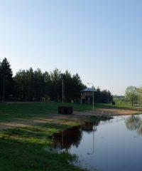 База отдыха возле озера Рокискис